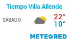 tiempo en Villa Allende